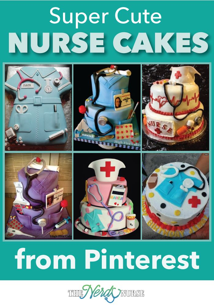 There any many celebrations and occasions that justify having an awesome nurse cake. Check out these awesome Nurse cakes found on Pinterest.