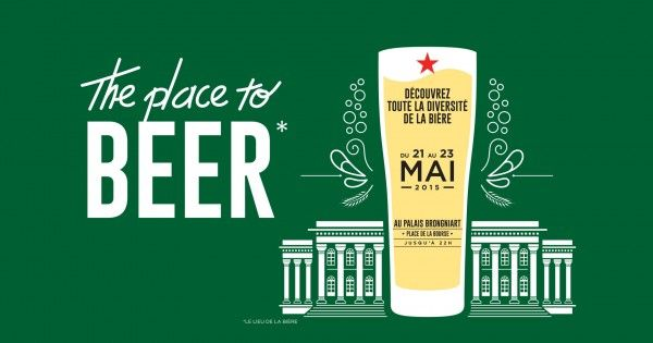 """ The Place to Beer "" débarque au Palais Brongniart du 21 au 23 Mai !"