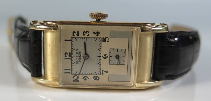 Rolex Prince 14k Gold Wrist Watch £500-£600