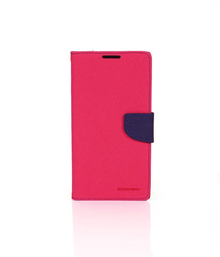Joe Martin Goospery Mercury Flip Cover For Samsung S Dous 7562/7582 - Pink