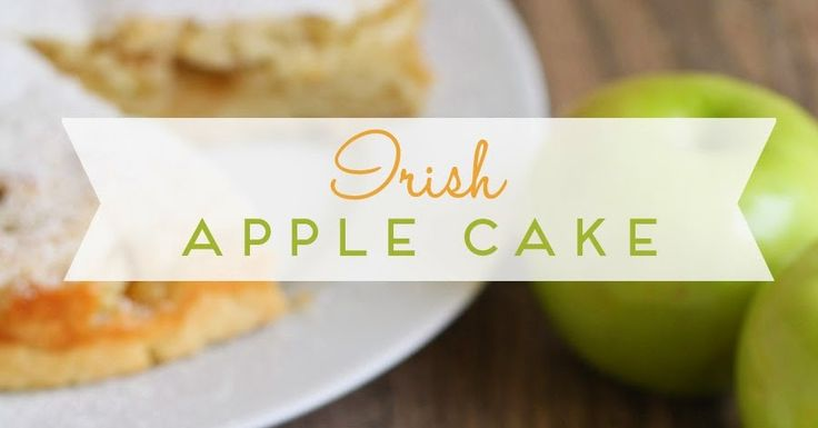 Irish apple cake - simple, sweet, and oh so delicious!