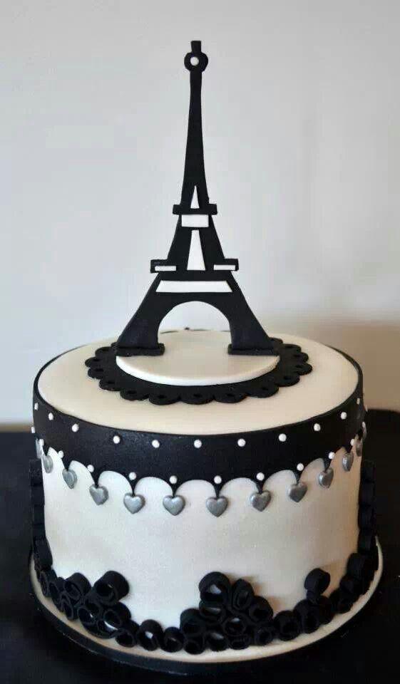 80 best Eiffel Tower Cake images on Pinterest Paris cakes Paris