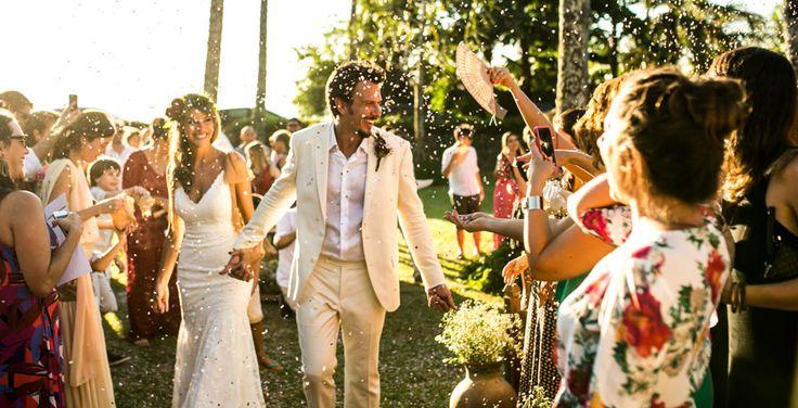 Tania & Miguel - Casamento no Campo - na beira da represa, com fotos de tirar o fôlego, esse casamento parece um editorial de tão lindo.