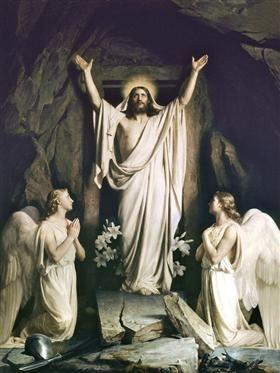 Resurrection of Christ - Carl Bloch 1875
