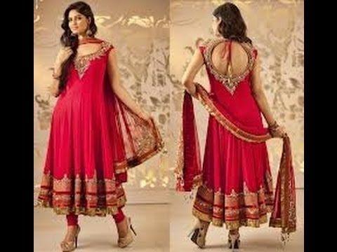 Salwar Kameez Designs 2014 - Latest Bollywood Dance Style - YouTube