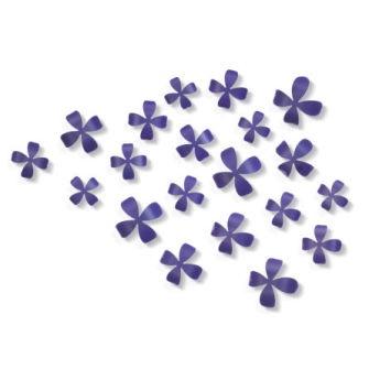wall decor, mirrors, wall art, wallflower purple   Umbra