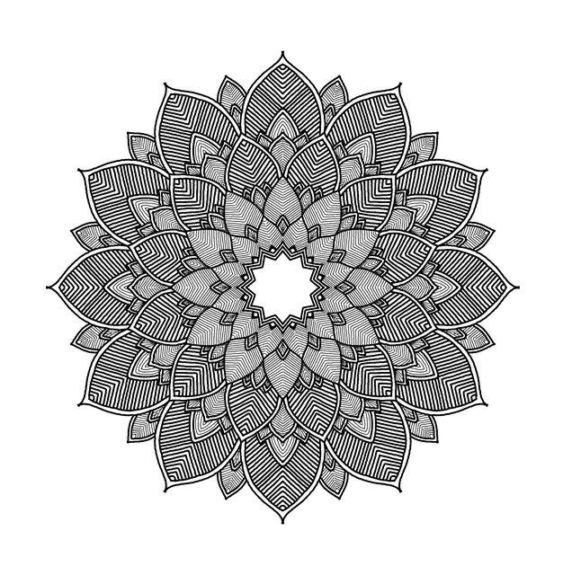 Free image on pixabay mandala geometric whirl white