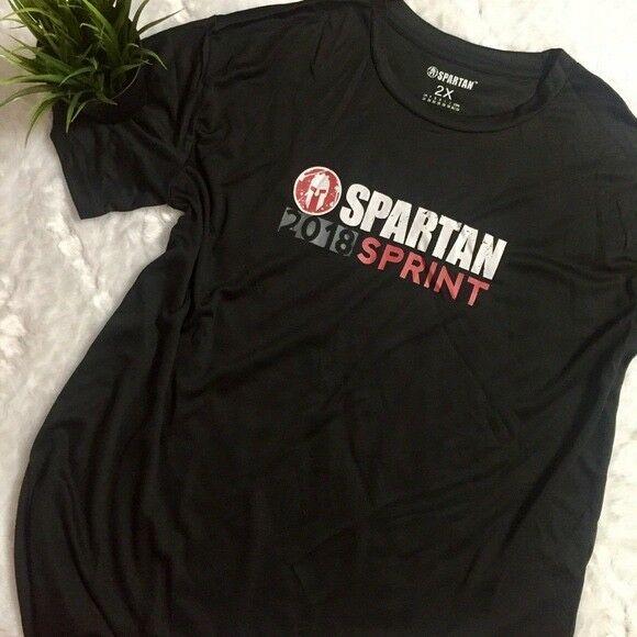 a7227dae0ed68 2018 Spartan Race Shirt: Spartan Sprint Finisher Shirt Size: Men's ...