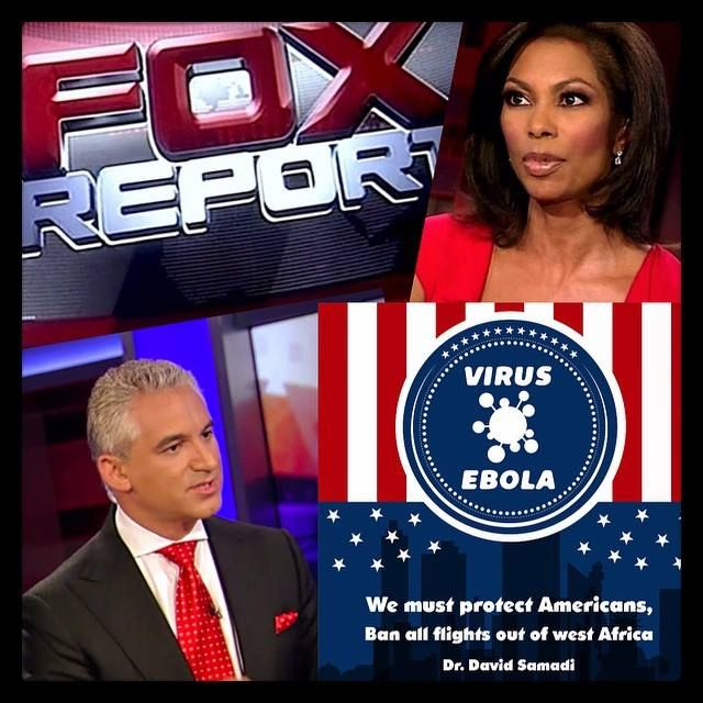 #Ebola SPECIAL REPORT today, Sunday 10/19/2014 at 4pm #NY time on Fox News with Harris Faulkner. Your Ebola questions answered: how is it spread? How to protect ourselves? And much more! TUNE IN TODAY! #EbolaOutbreak #healthcare — with Harris Faulkner.