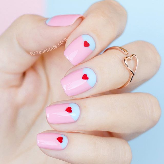 478 best Valentines Day Nail Art images on Pinterest