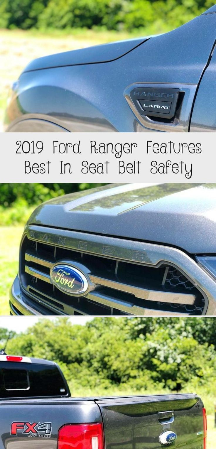 2019 Ford Ranger Features Best In Seat Belt Safety in 2020