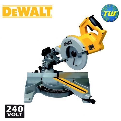 http://www.twwholesale.co.uk/product.php/section/10394/sn/DeWalt-DW777-GB DeWalt DW777 216mm Compound Slide Mitre Saw 240V has an 1800 Watt motor that powers through all kinds of materials quickly and cleanly. Fitted with a dust extraction system specifically designed to meet the needs of the professional user it protects you from airborne dust particles to help minimise health risk over long periods of use.