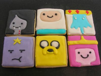 SWEET! cupcakes: Adventure time cookies