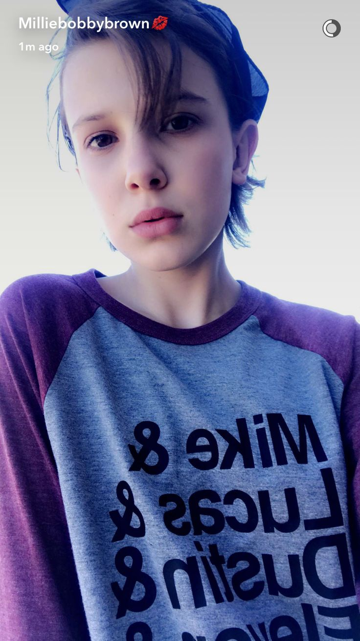 The 25+ best Millie bobby brown snapchat ideas on ...