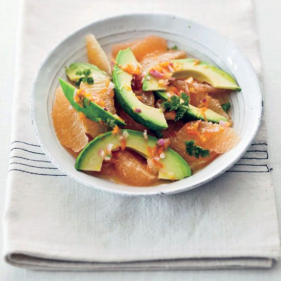 Pink-Grapefruit-and-Avocado Salad | Food