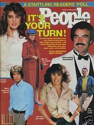 Brooke Shields - People Magazine [United States] (April 1982)