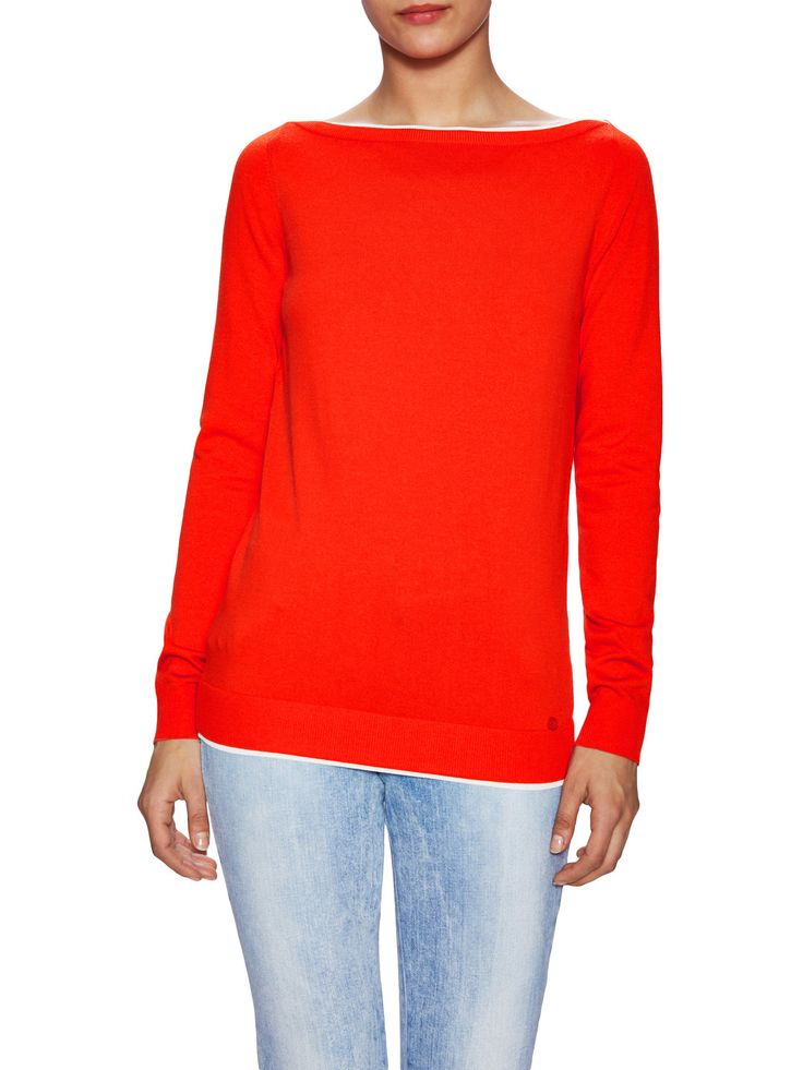 Colorblock Underlayer Ribbed Sweater by Gucci Clothing & Accessories at Gilt