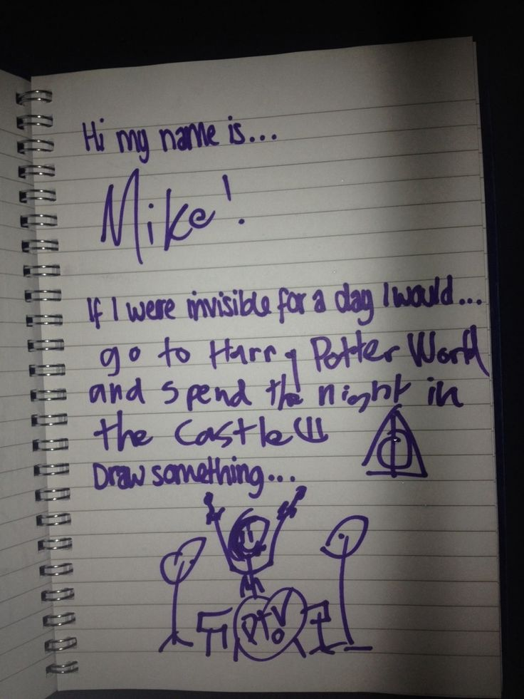 The fact that Mike's extreme love of Harry Potter matches my own just brightens up my whole day. :D <3