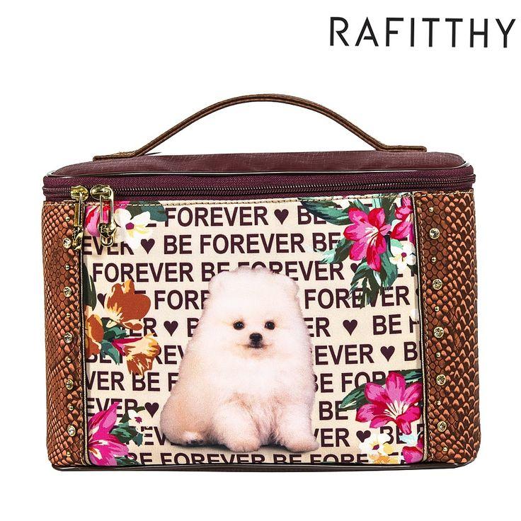 Frasqueira RAFITTHY BE FOREVER coleção 2016