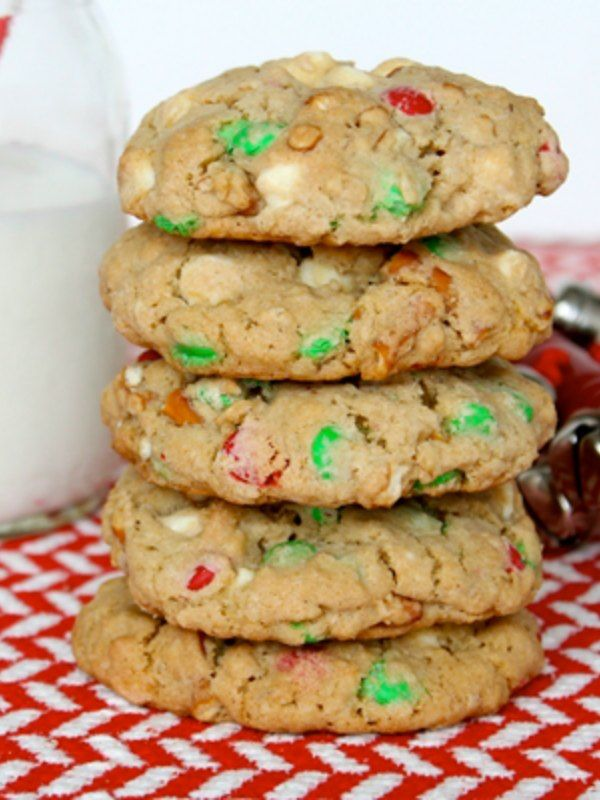 Sleigh Mix Cookies will delight Santa and everybody else on his sleigh.