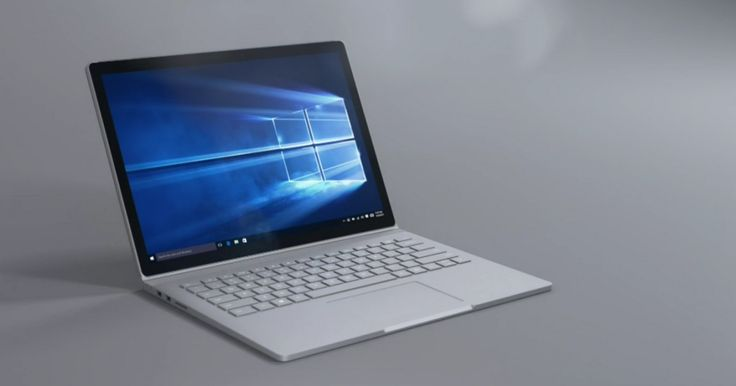MICROSOFT'S SURFACE BOOK LOOKS LIKE THE ULTIMATE HYBRID PC—seems spectactular; Details>
