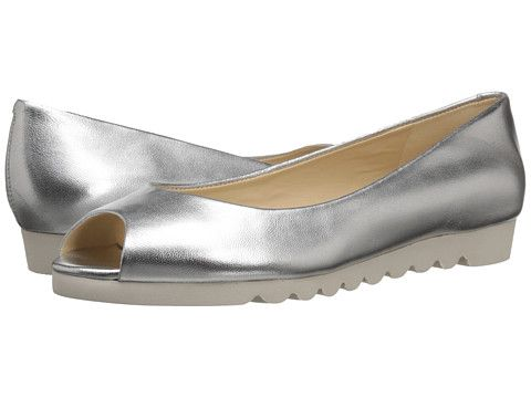 Nine West Ivette Silver Metallic - 6pm.com