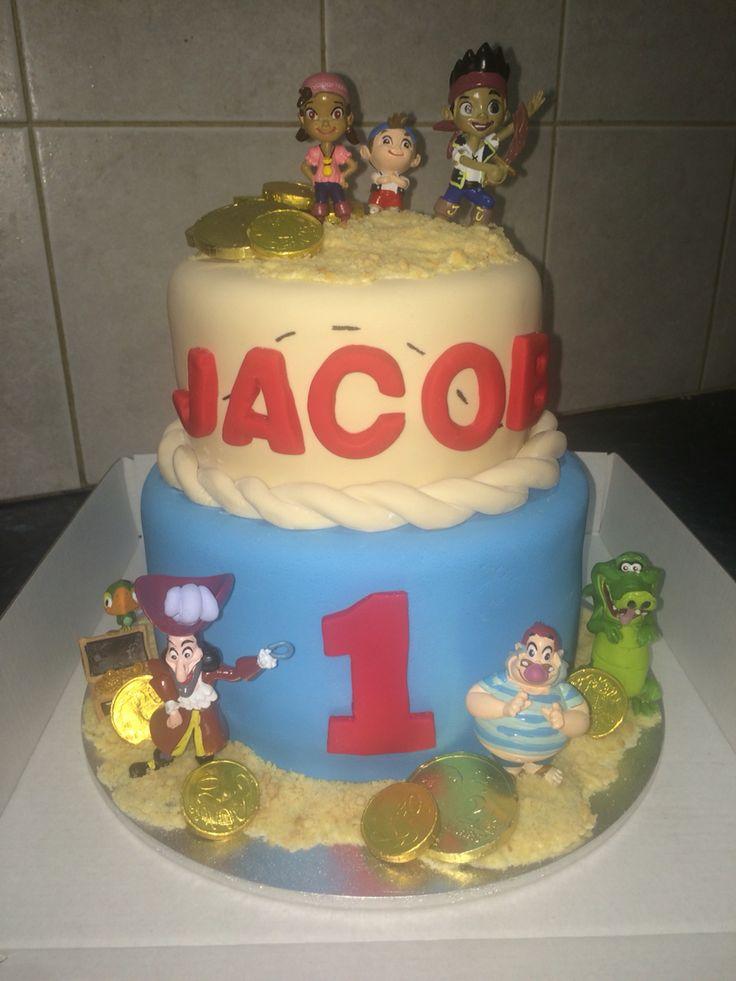 Jack and the Neverland Pirates cake.