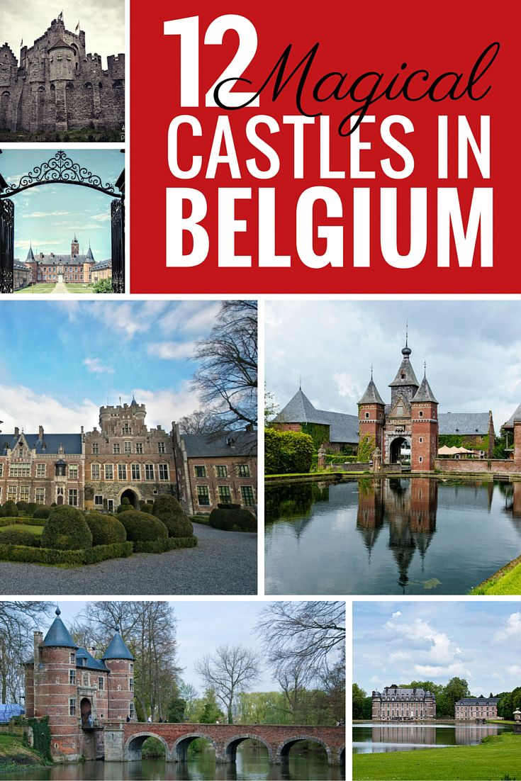 People think Belgium is a boring country but it's actually filled with hidden gems. These 12 Magical Castles in Belgium prove it's well worth a visit for cultural travel, architecture, and history lovers.