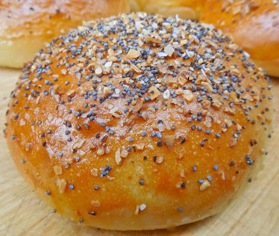 "Everything"" Brioche Burger Buns 