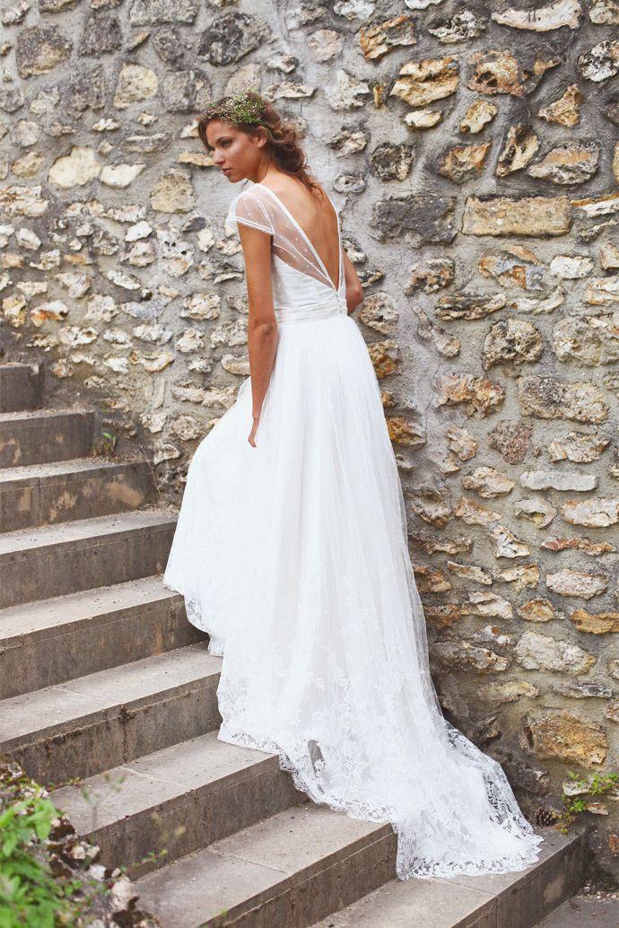 Adeline Bauwin | Robe de mariée: Lys | Crédits: Studio Ohlala | Donne-moi ta main - Blog mariage