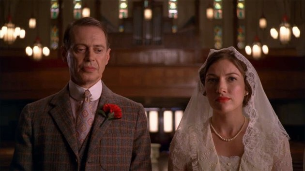 """The wedding of Nucky Thompson and Margaret Thompson on """"Boardwalk Empire"""" (2011)"""