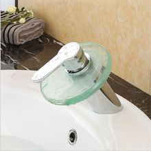 The bathroom faucet falls for wash basin mixer tap falls. The bathroom sink glass mixer tap,Bathroom Basin Faucet Brass Chromed(China (Mainland))
