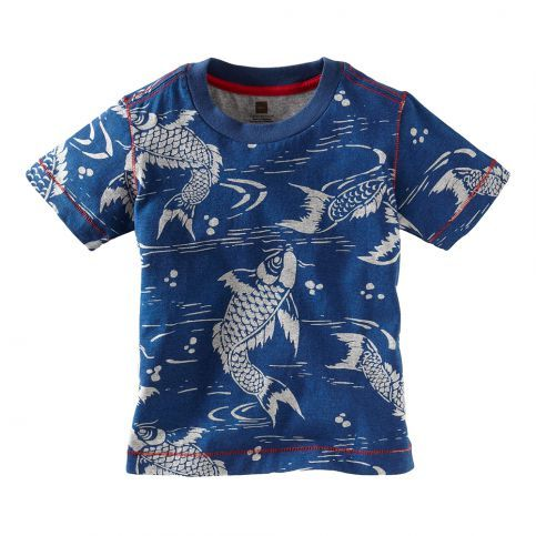 In China, the carp is a sign of good fortune, so naturally we had to make this tee. #TeaSummer