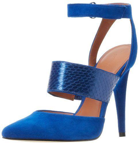 Sigerson Morrison Women's Brielle2 Pump,Blue Suede,7 M US Sigerson Morrison,http://www.amazon.com/dp/B00AQECOF4/ref=cm_sw_r_pi_dp_GeW9rb1RNC26VKPN