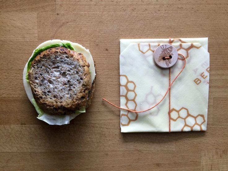 Mały bee's wrap do kanapek
