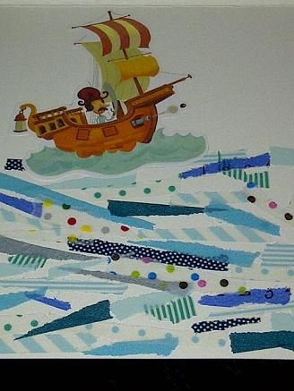 pirate sailing the seas