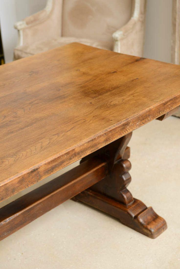 French Farm Trestle Table