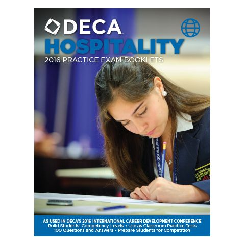 2016 Career Cluster Exam Booklets | DECA Images