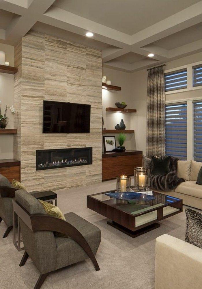 Die besten 25+ Wandgestaltung wohnzimmer beispiele Ideen auf - wohnwand ideen selber machen