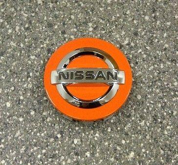 Nissan Orange Racing Centre Cap, Alloy Wheel - KE409ORANG