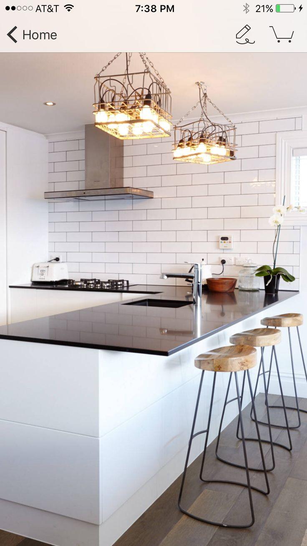 Mejores 82 imágenes de cocinas en Pinterest | Cocinas, Cocina blanca ...