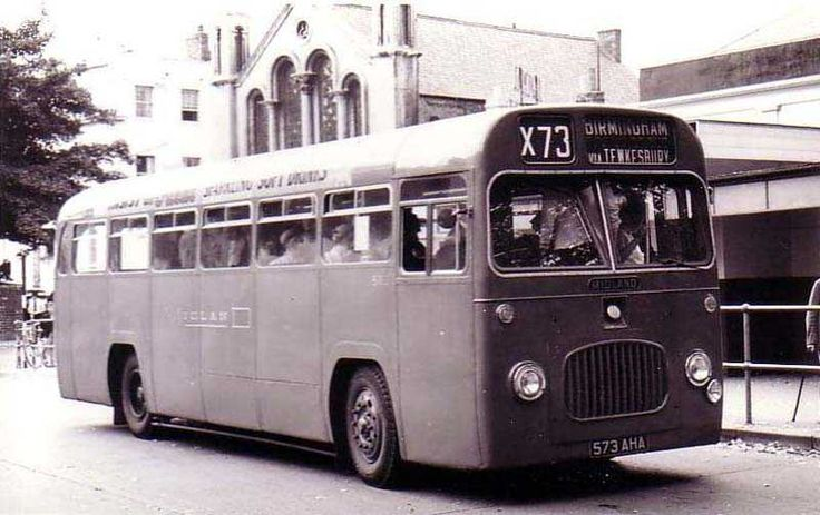 Warwickshire, Birmingham Single Decker Bus 1950''s.jpg (800×504)