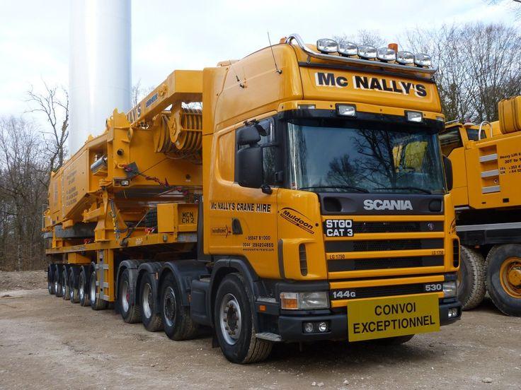 McNally Crane LG1750 and Scania 530