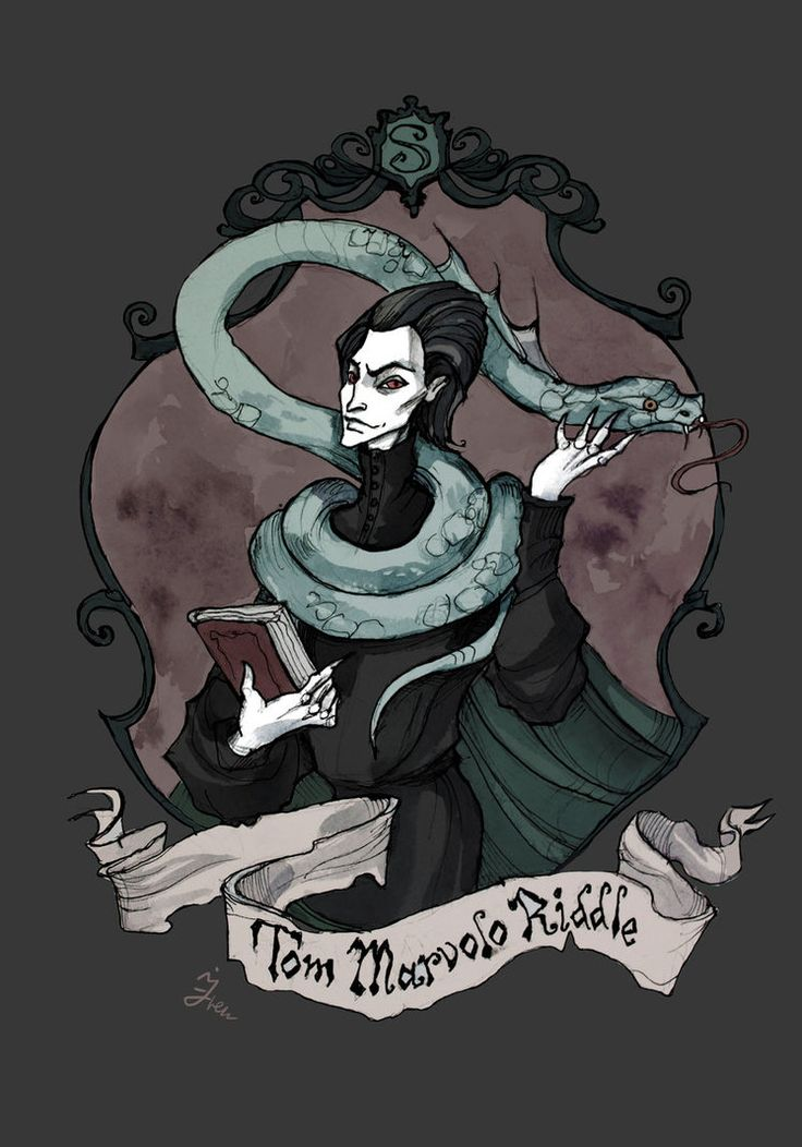 Tom Riddle by IrenHorrors on DeviantArt
