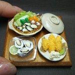 ミニチュア*土手鍋  牡蠣祭りセット