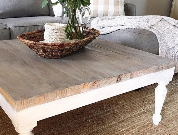 1000+ ide tentang farmhouse coffee tables di pinterest