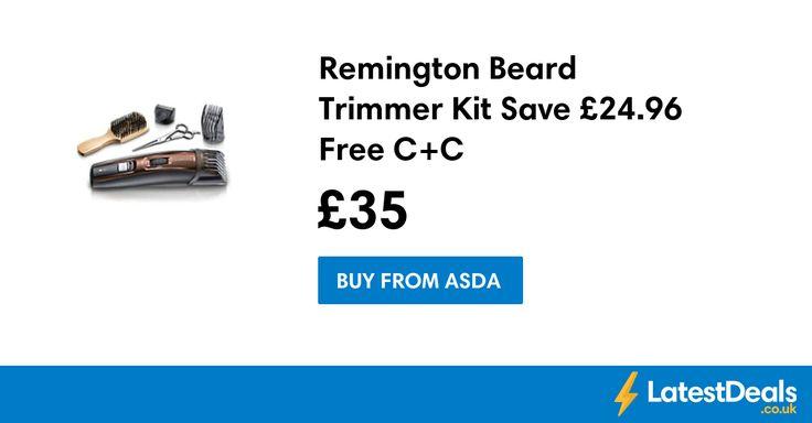 Remington Beard Trimmer Kit Save £24.96 Free C+C, £35 at ASDA