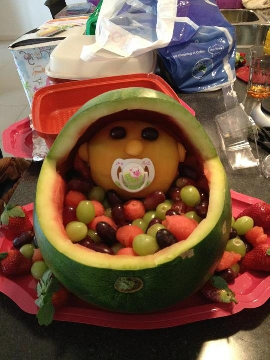 baby shower fruit salad children 39 s food ideas pinterest