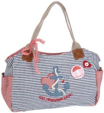 Adelheid Weltenbummlerin Handtasche groß 11120341643, Damen Henkeltaschen 35x21x12 cm (B x H x T) beste Angebot « DamenHandtaschen