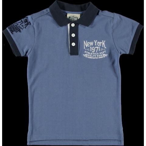 Polo piqué con mangas a contraste. ¿Quieres ver más polos de niño? http://www.monsterskids.com/es/55-ropa-nino-polos  #ropa #moda #polos